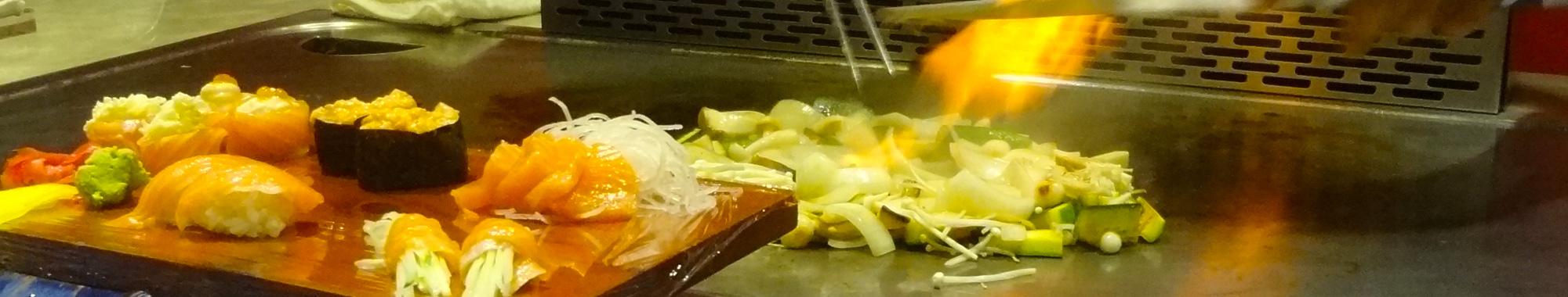 De Gouden Wok - Teppanyaki wereld keuken