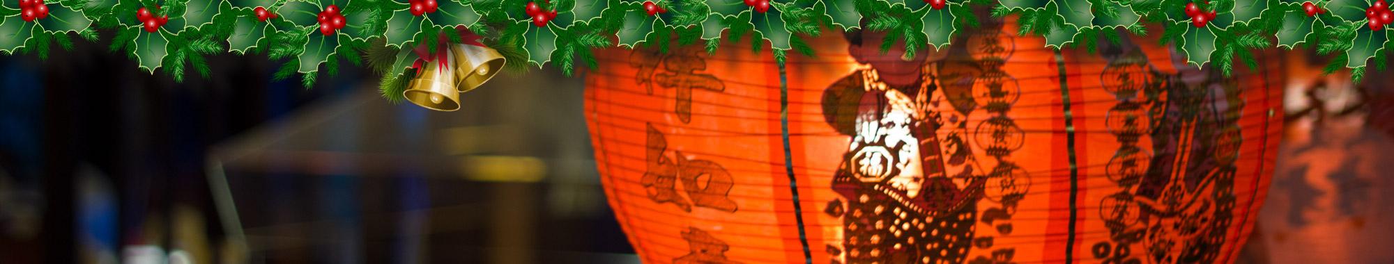 Kerst bij de Gouden Wok in Hazerswoude